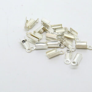 Terminale mini argento/nichel