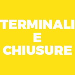 Terminali e chiusure