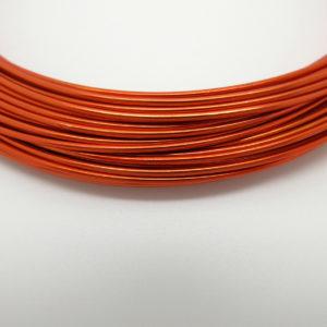 Filo alluminio arancio 1mm