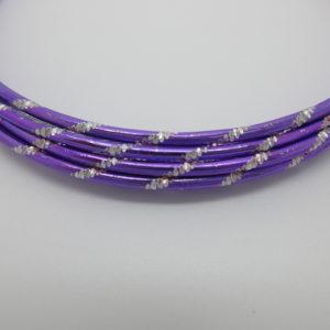 Filo alluminio diamantato viola