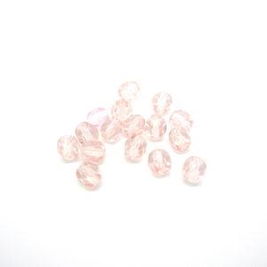 Mezzi cristalli rosa 4mm