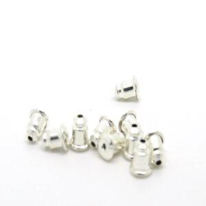 Retro orecchini-perno argento