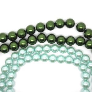 Perle vetro cerato 12mm