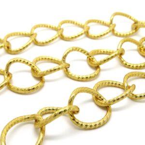 catena alluminio oro