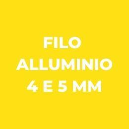 Filo alluminio 4 e 5 mm